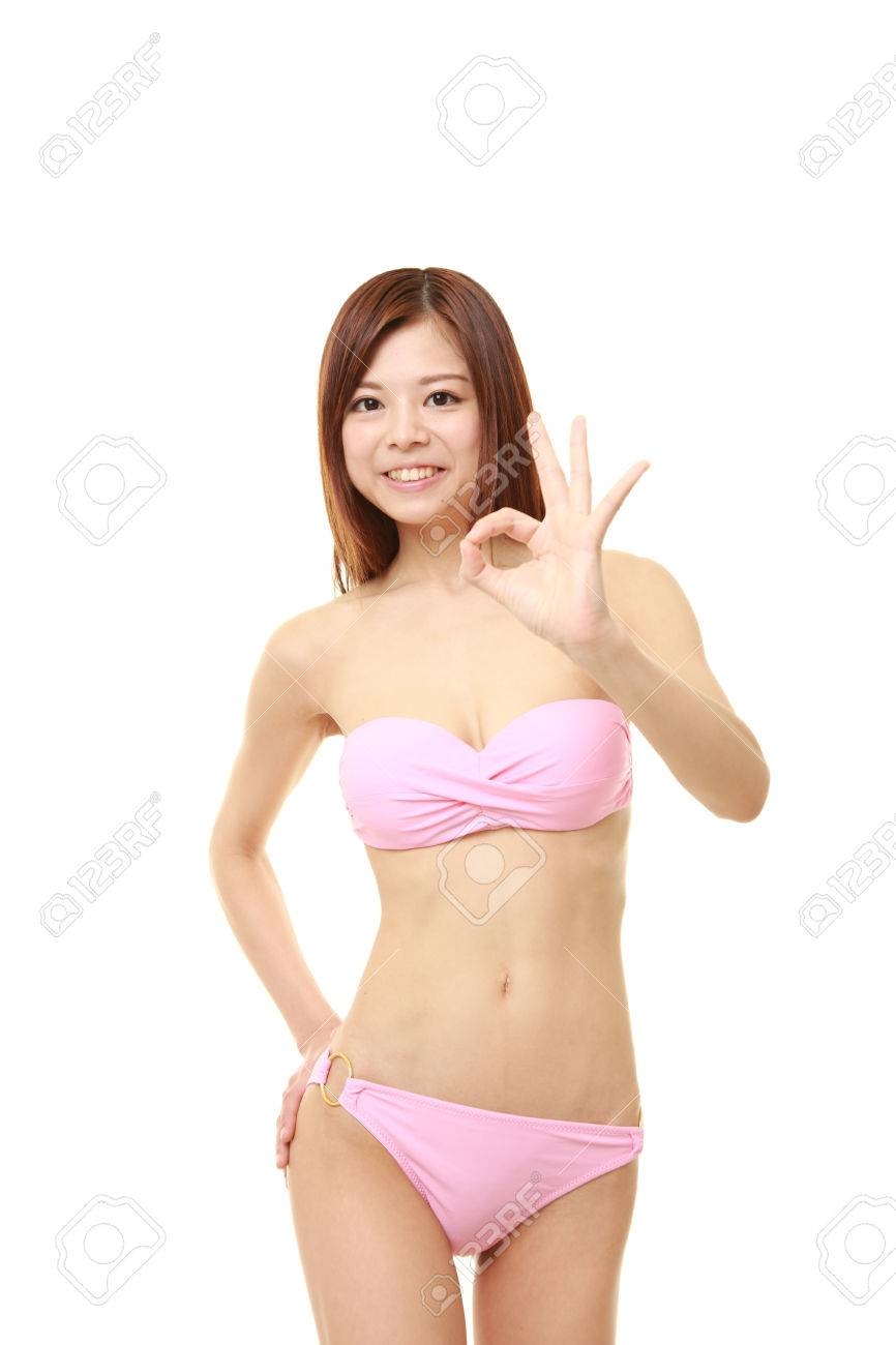 Bikini in japanese woman