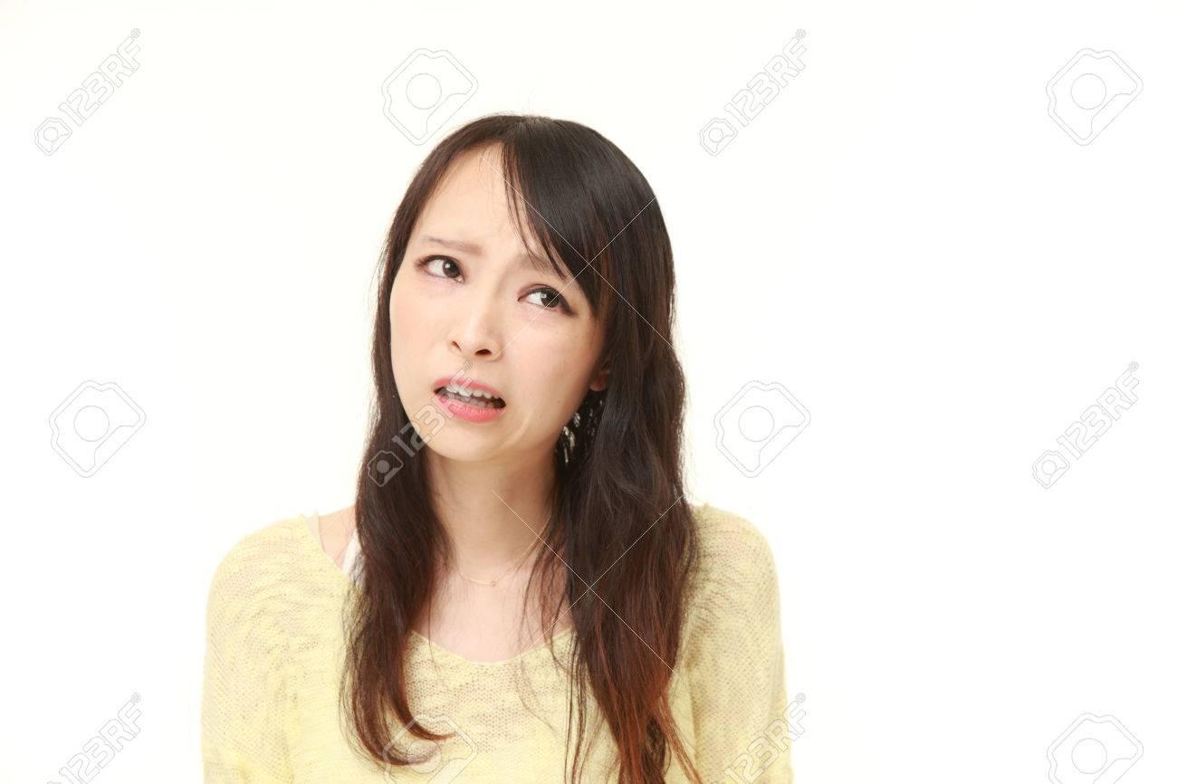 当惑した女性 の写真素材・画像素材 Image 43844546.