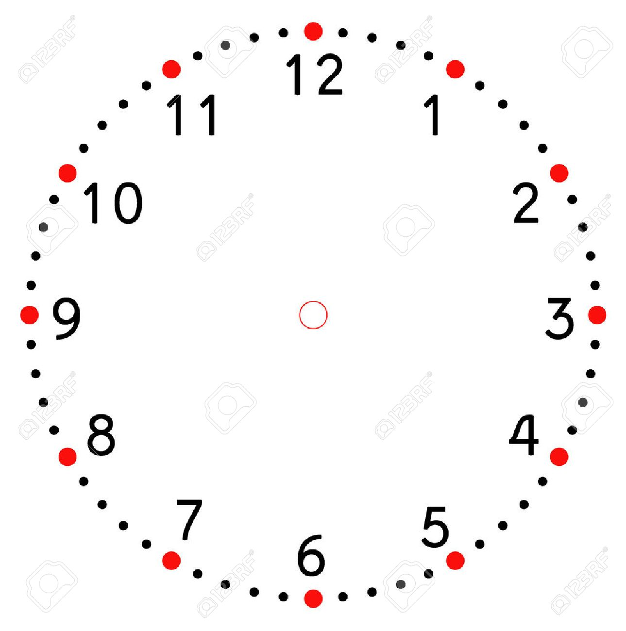 worksheet Clock Blank clock face blank royalty free cliparts vectors and stock vector 36132527