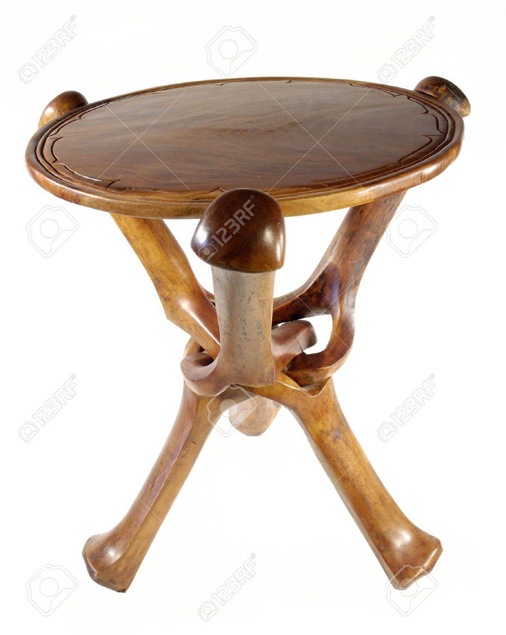 African Table Stock Photo   699003