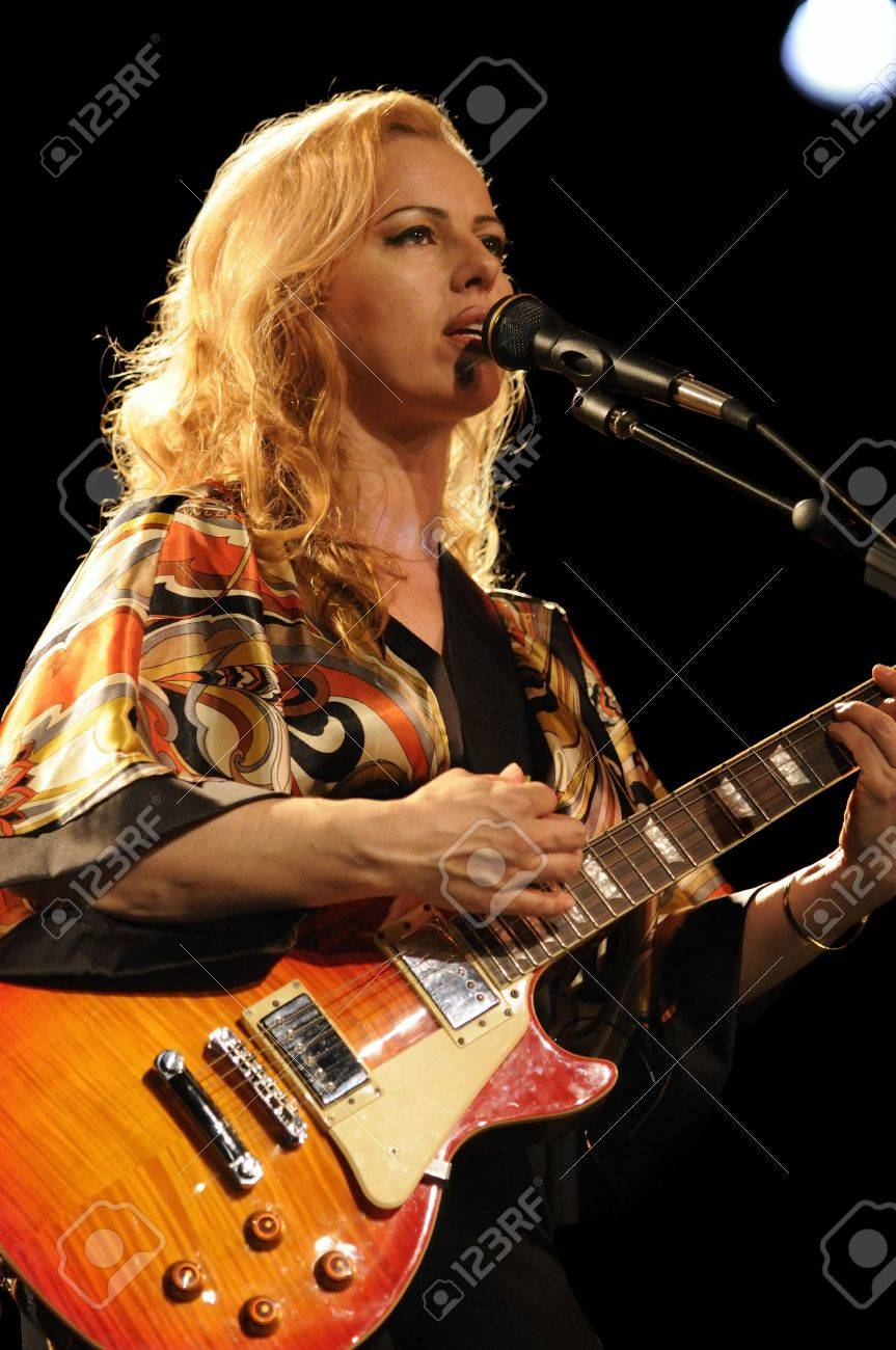 Female Lead Guitarist Of The Group