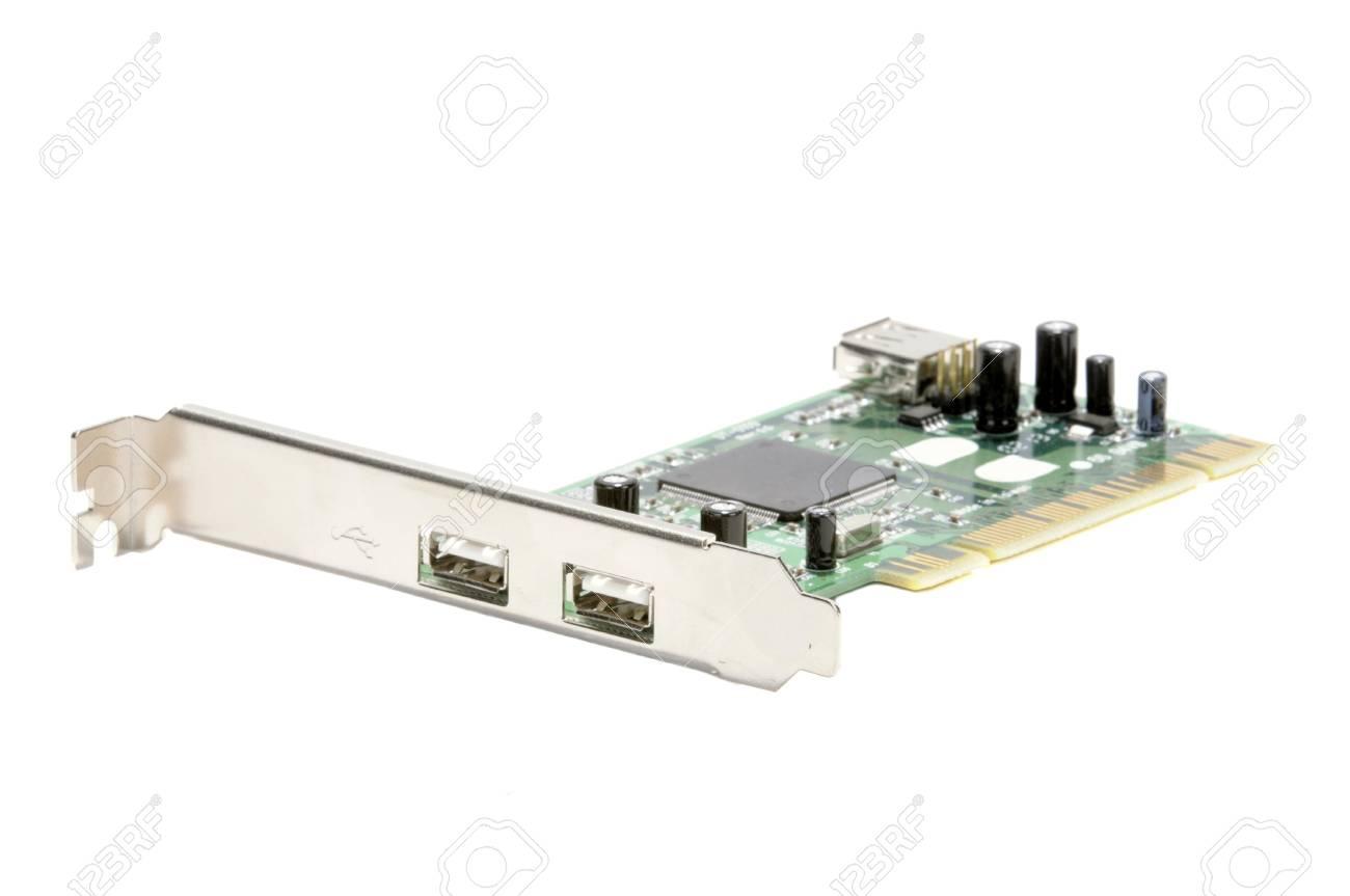 Usb Interface Controller Mame Raspberry Pi To Arcade Arcadomania Shop Closeup Of A Computer Pci Bus Card Stock Photo 1300x863