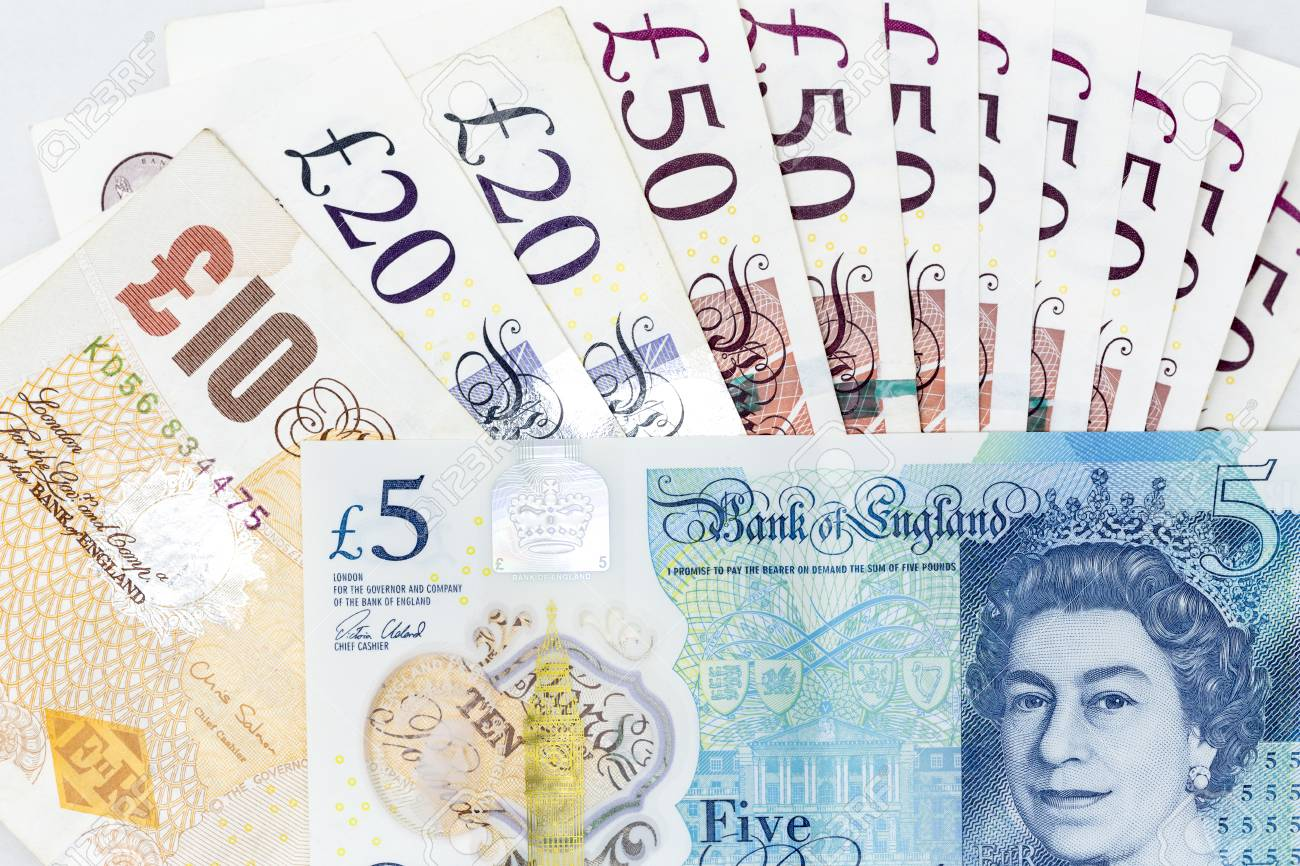 Image result for notes in pound sterling