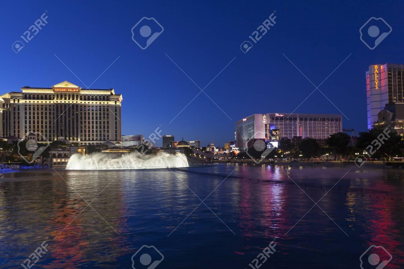 LAS VEGAS - MAY 20, 2013 - Las Vegas Strip on May 20, 2013 in