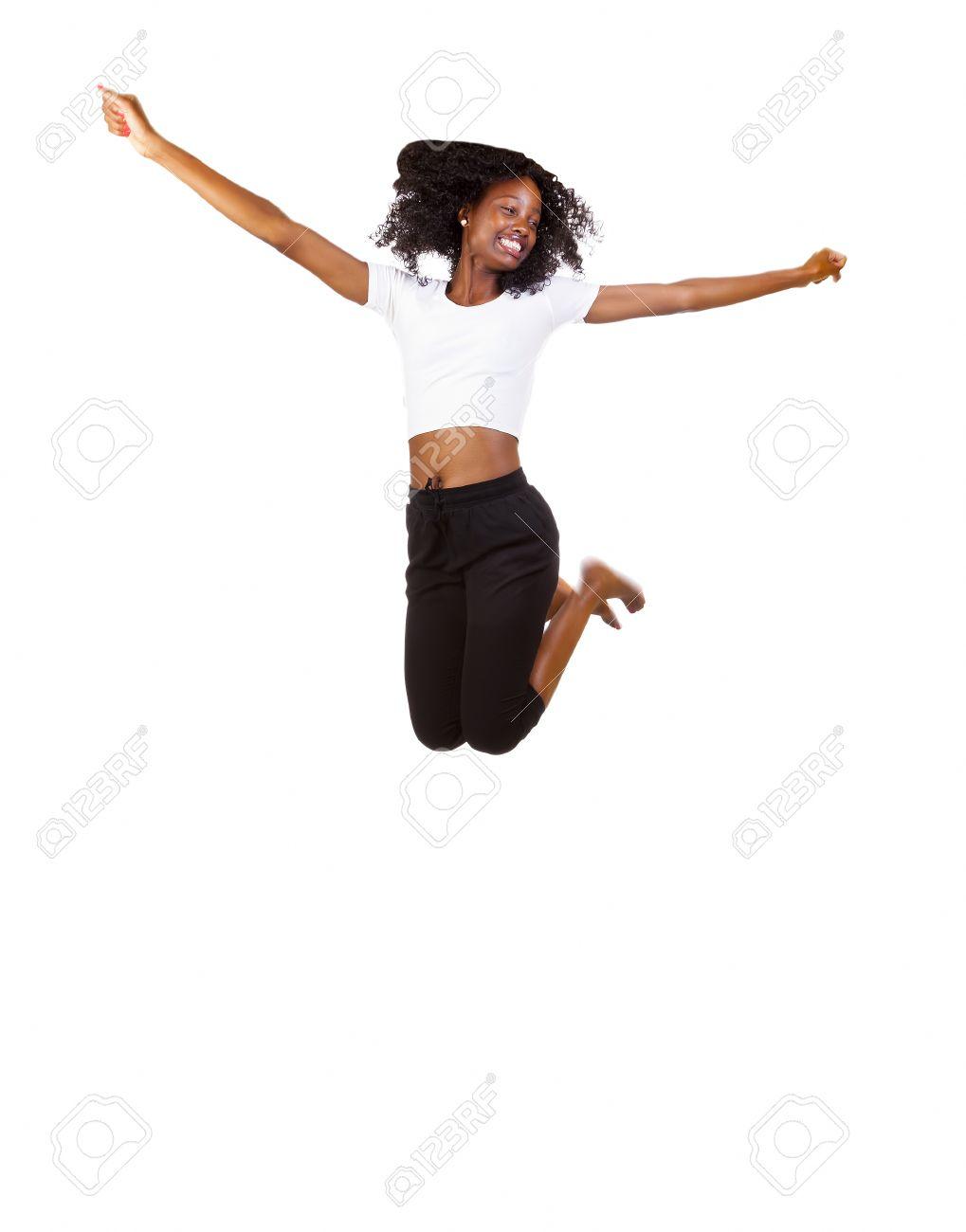 Skinny Black Teen Girl gros titals