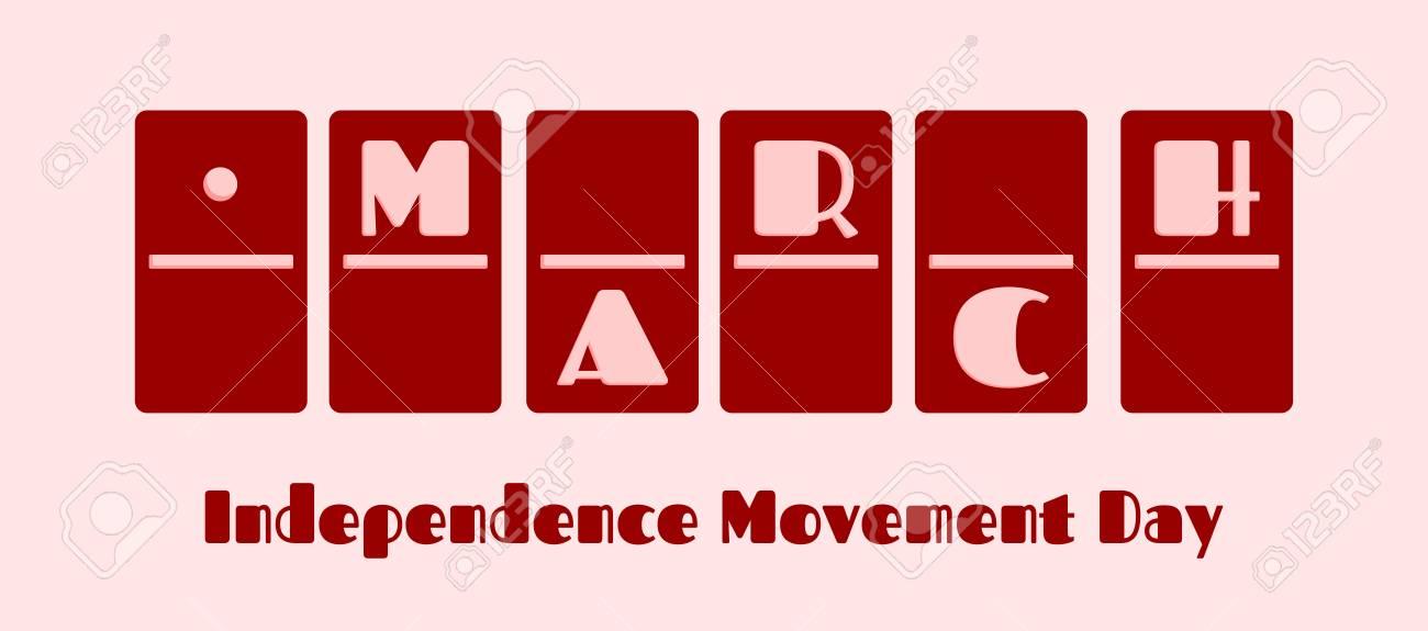 Kalender Datum 1 März Geschehen In Domino Knochen Design Tag