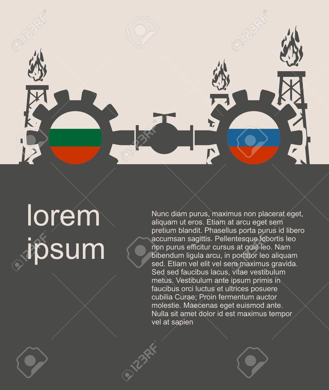 Imagen Relativa Al Tránsito De Gas Desde Rusia A Bulgaria ...