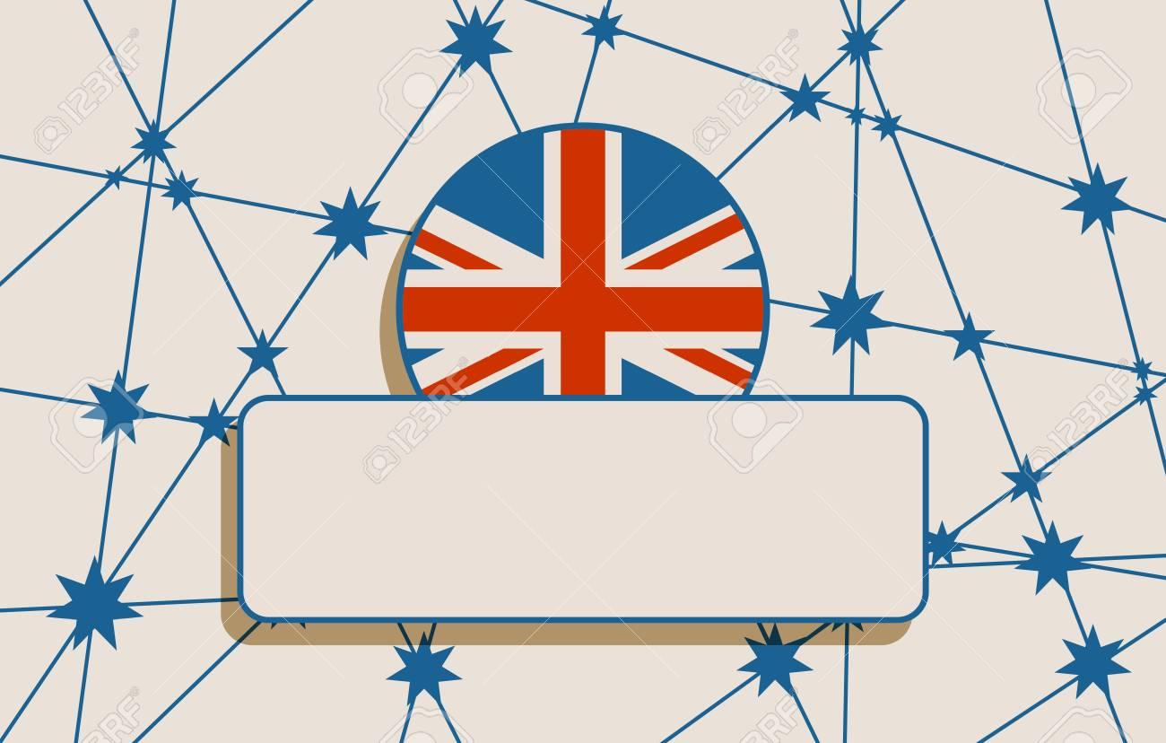 Concepto De Diseño De La Bandera De Australia. Imagen Relativa A ...