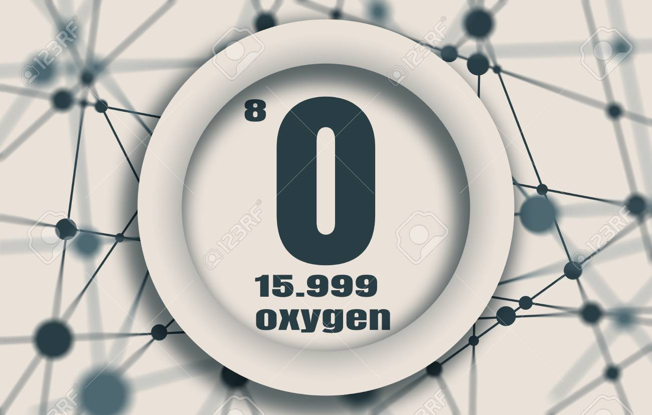 Oxygen chemical element sign with atomic number and atomic weight oxygen chemical element sign with atomic number and atomic weight chemical element of periodic urtaz Choice Image