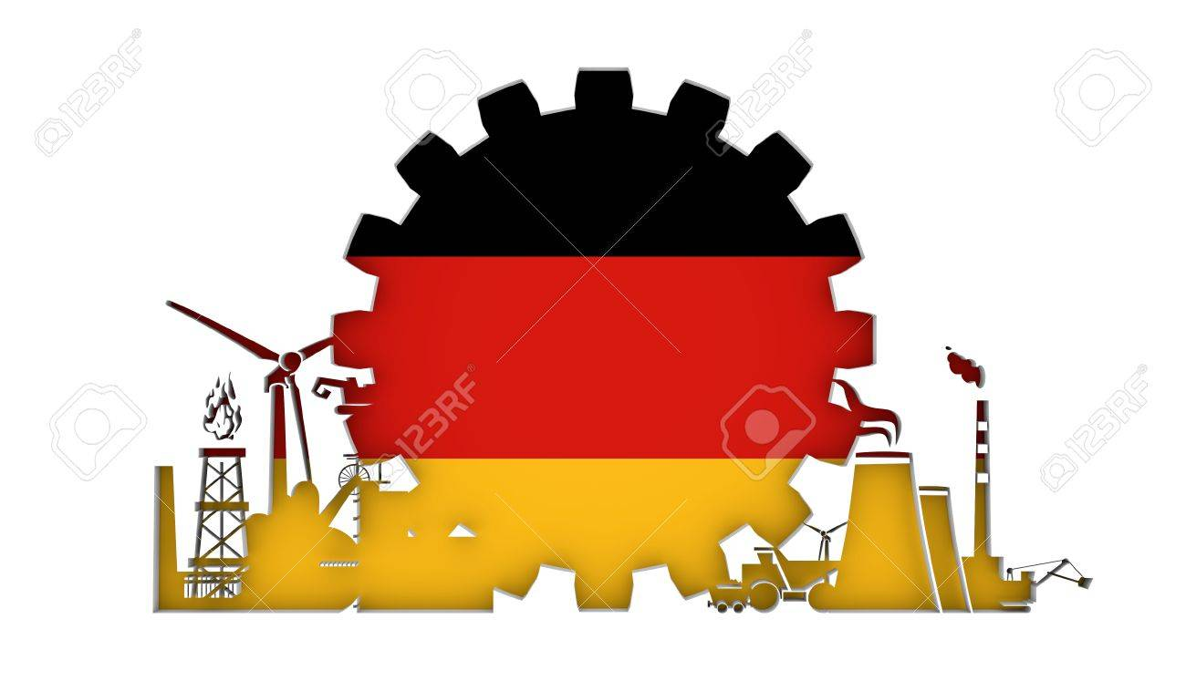 Energy and power icons set with flag of the germany sustainable energy and power icons set with flag of the germany sustainable energy generation and heavy biocorpaavc Gallery