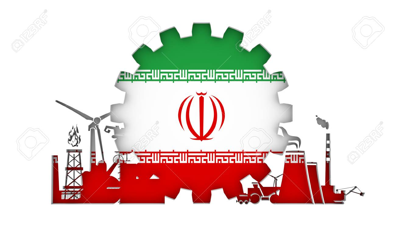 Energy and power icons set with flag of the iran sustainable energy and power icons set with flag of the iran sustainable energy generation and heavy biocorpaavc Gallery