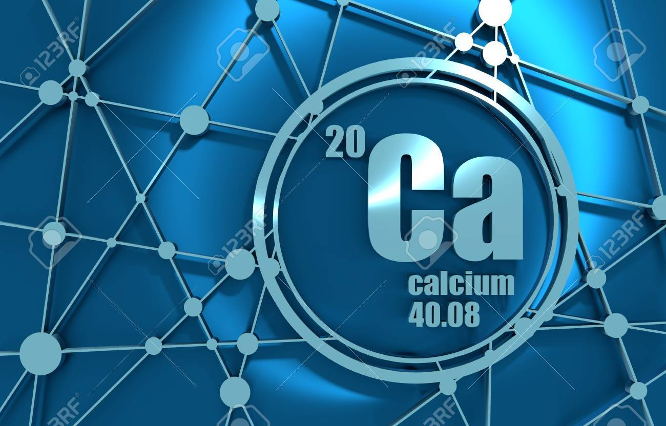 Calcium chemical element sign with atomic number and atomic stock calcium chemical element sign with atomic number and atomic weight chemical element of periodic urtaz Choice Image