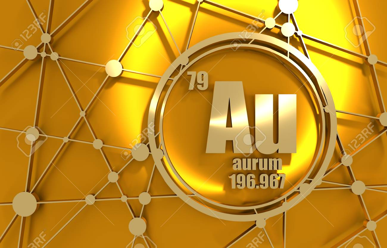 Gold chemical element sign with atomic number and atomic weight gold chemical element sign with atomic number and atomic weight chemical element of periodic urtaz Gallery