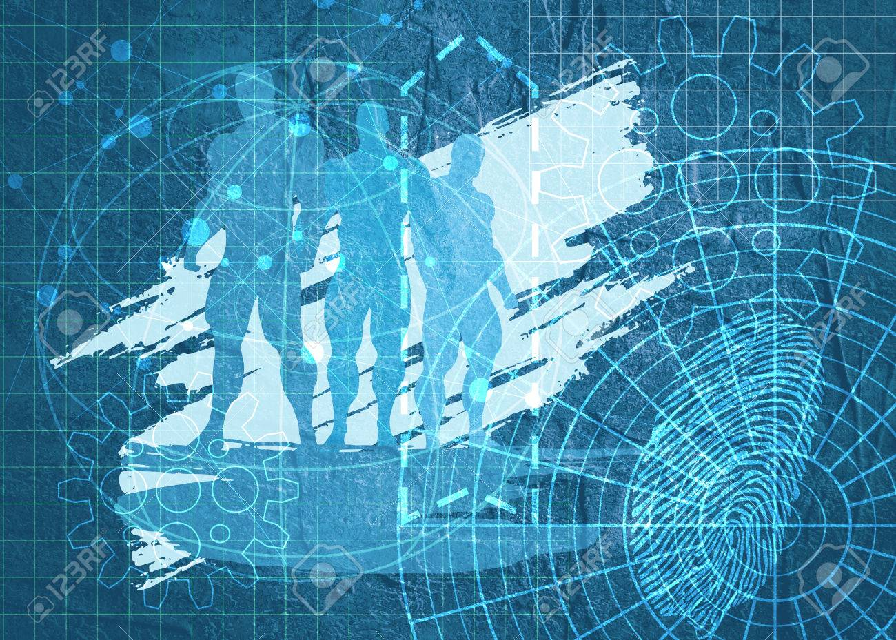Old blueprint background texture technical backdrop paper old blueprint background texture technical backdrop paper silhouettes of three men on concrete textured malvernweather Images