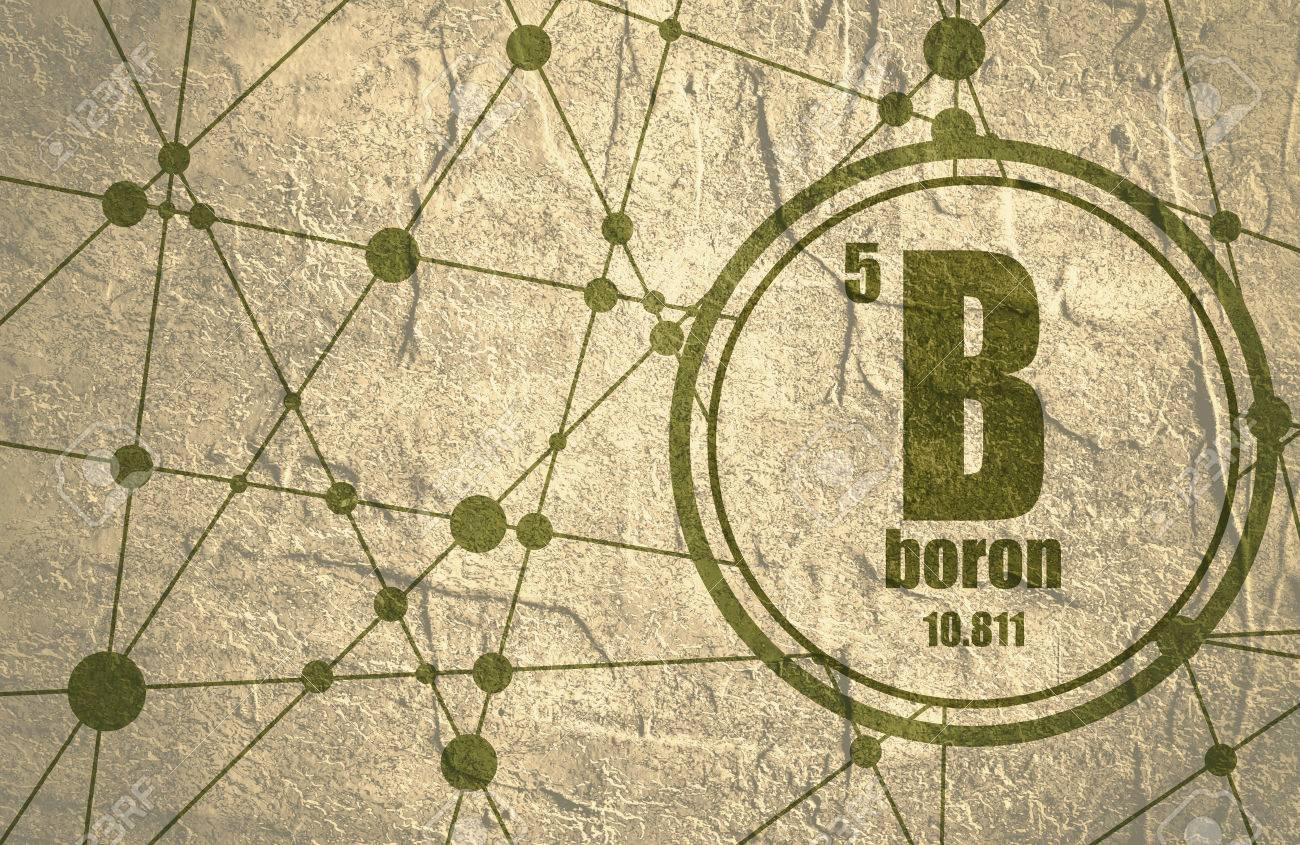 Boron chemical element sign with atomic number and atomic weight boron chemical element sign with atomic number and atomic weight chemical element of periodic urtaz Choice Image