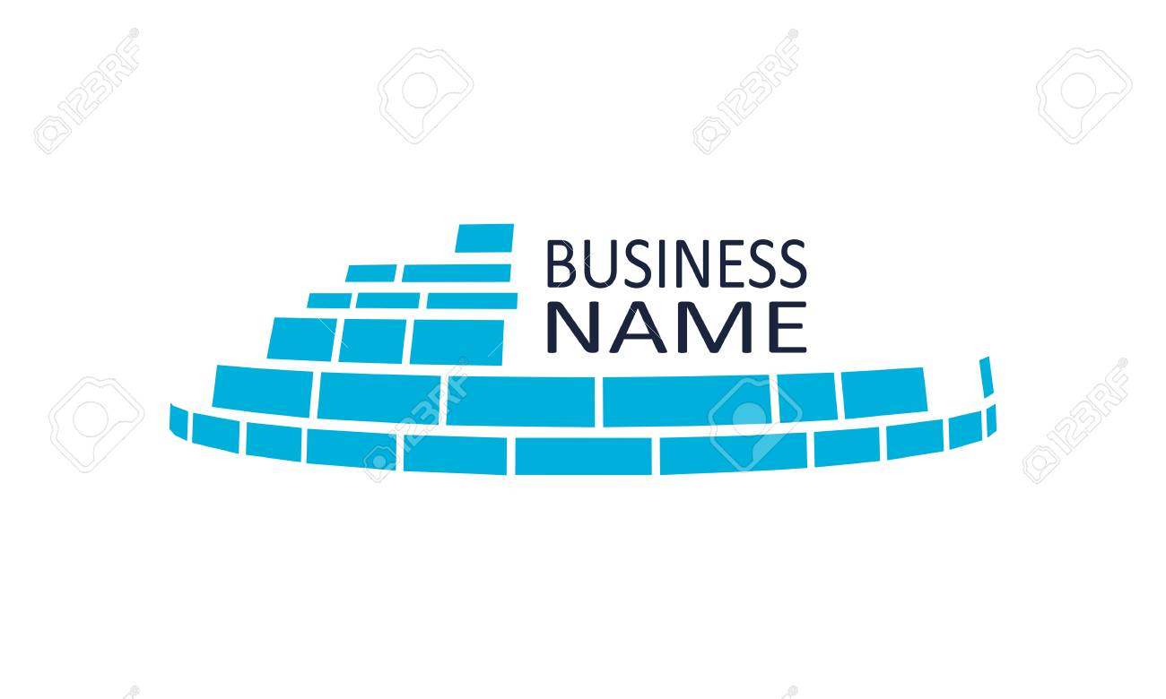Building Construction Badge Template Real Estate Sign For Branding