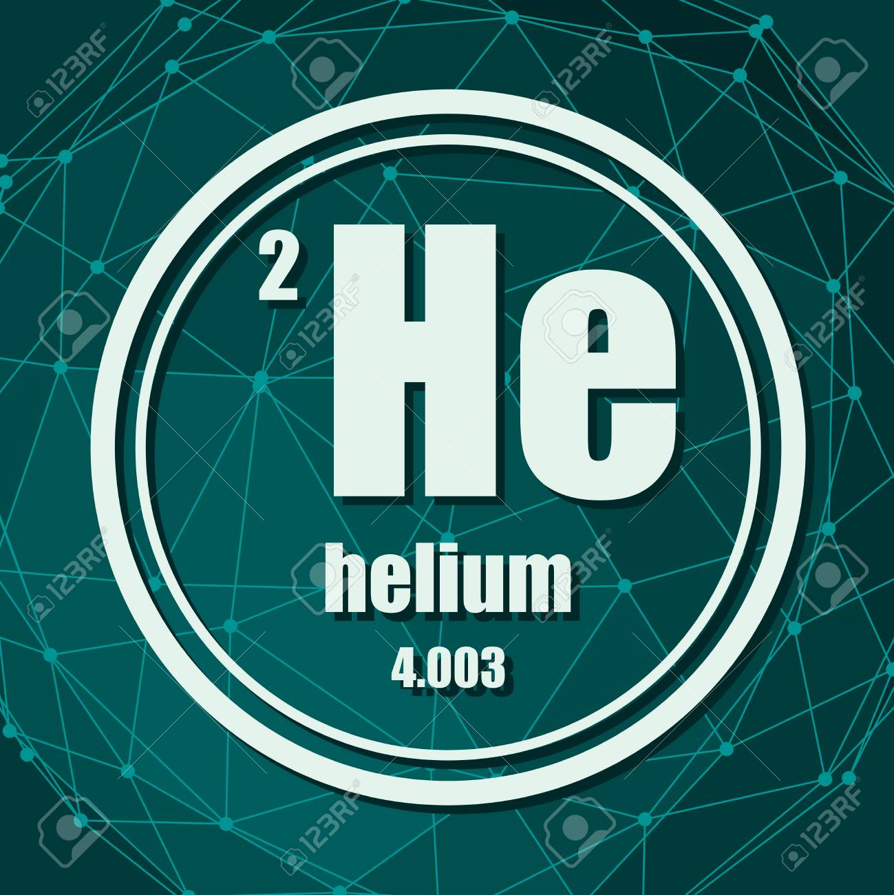 What is the atomic mass of helium