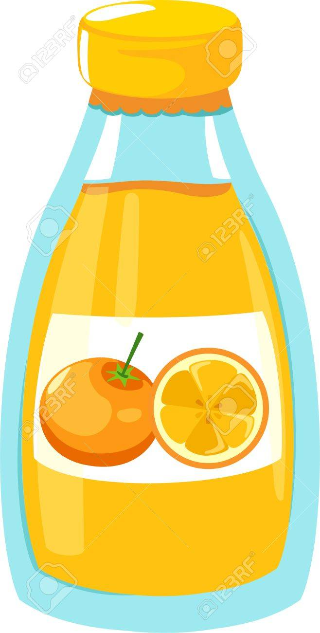 illustration orange juice Stock Vector - 12217160