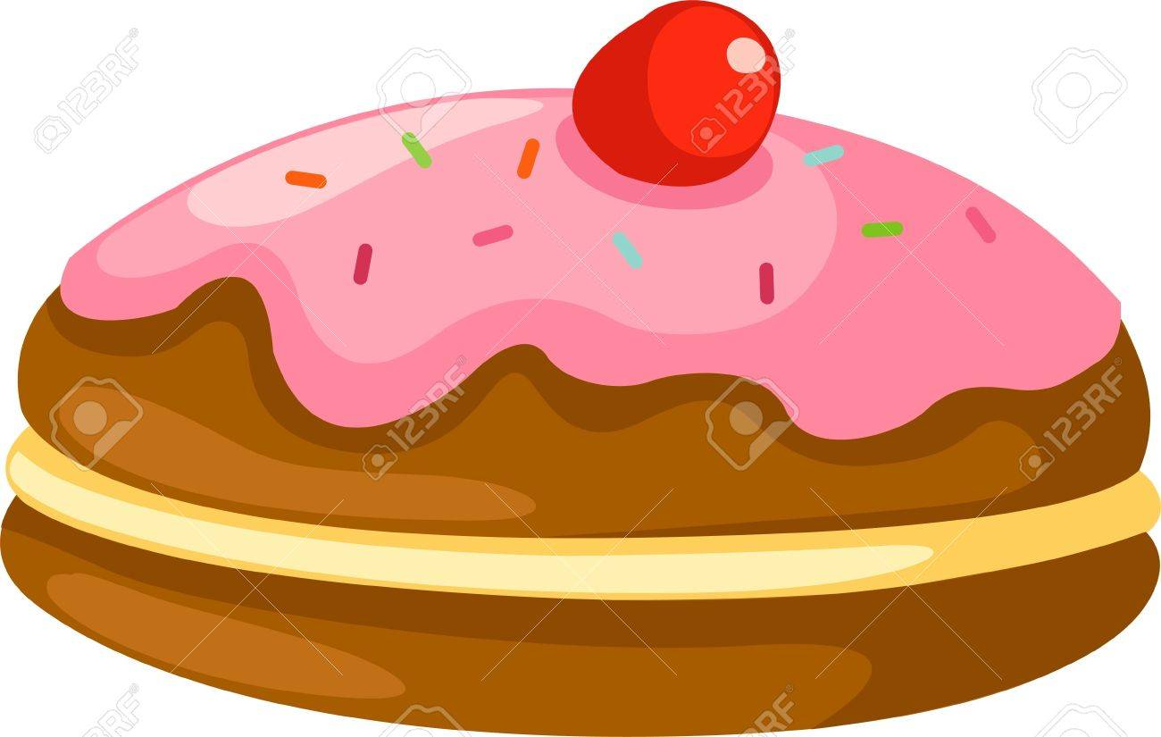 donut vector Stock Vector - 12702995