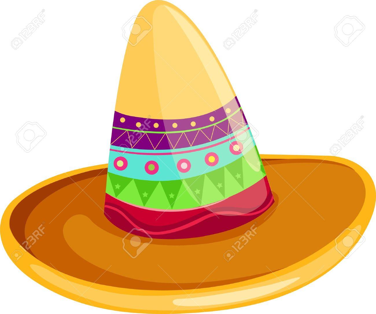 Sombrero mexicano Foto de archivo - 12702958