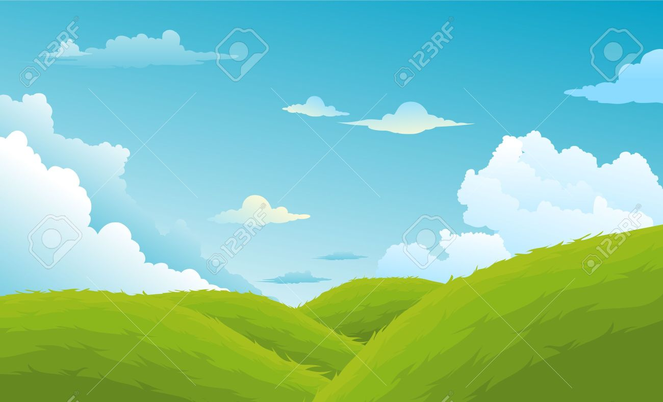 Beautiful Landscape Background Stock Vector - 14686960