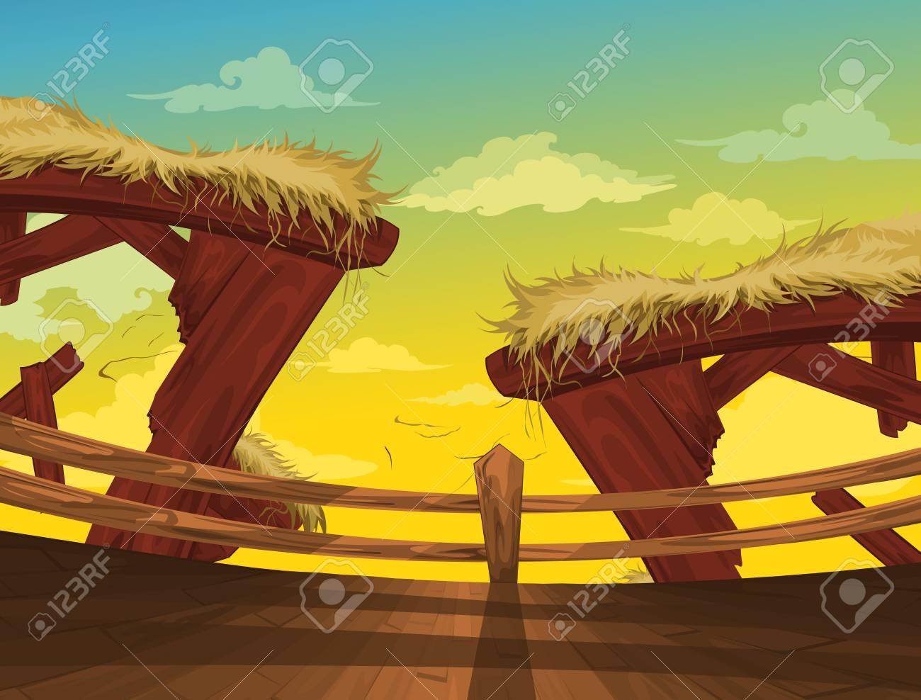 Beautiful Landscape Background vector Stock Vector - 14686965