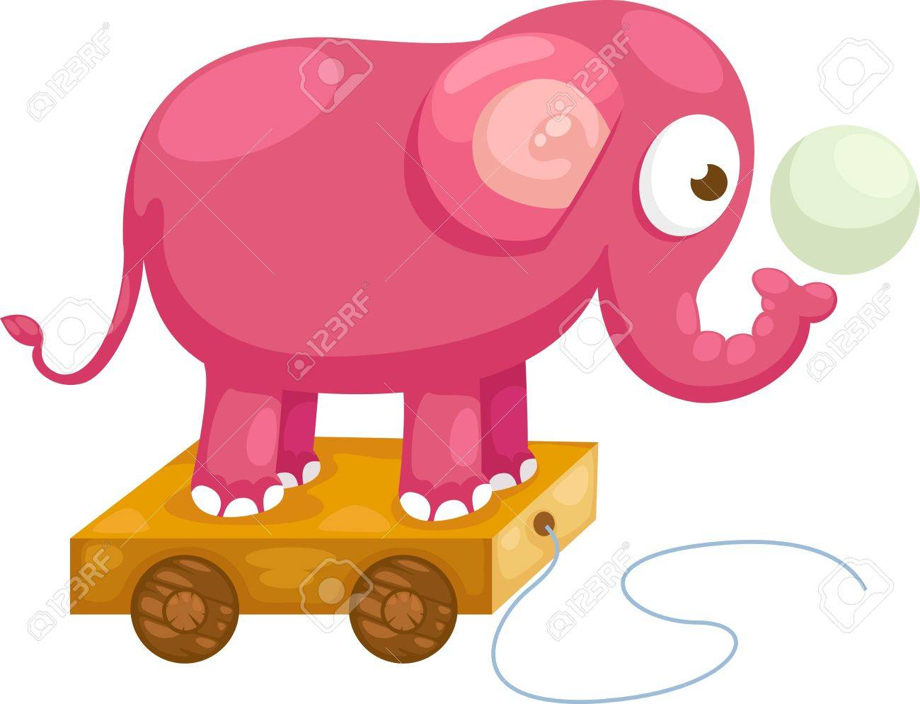 6,987 Baby Elephant Stock Vector Illustration And Royalty Free ...