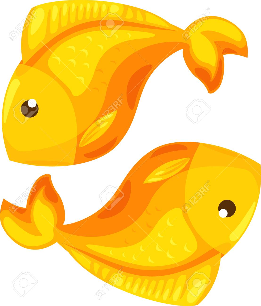 Zodiac signs - Pisces icon Illustration Stock Vector - 16857875