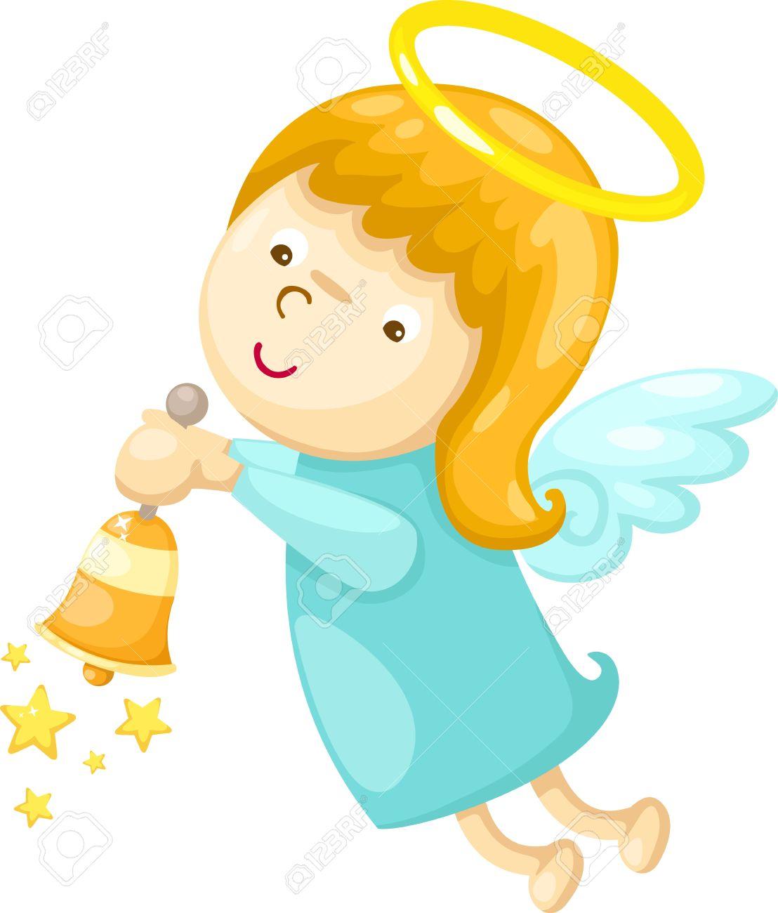 angel  Vector illustration  on white background Stock Vector - 17623537