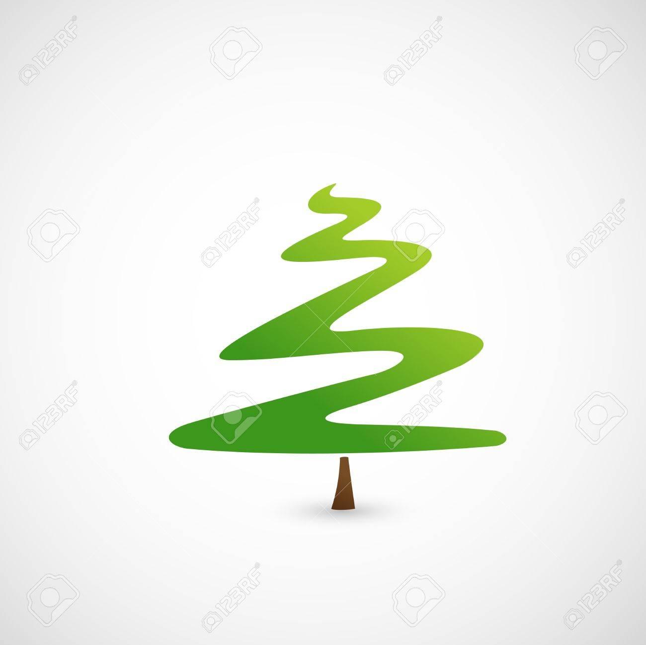 Pine tree icon Stock Vector - 18870704