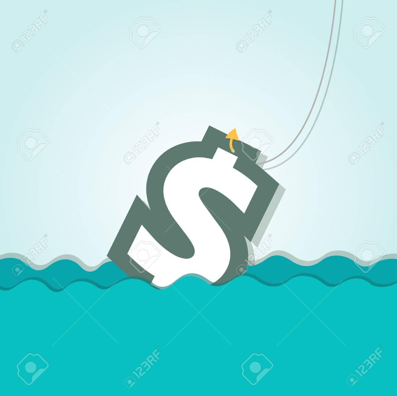 Money icon Stock Vector - 28128617