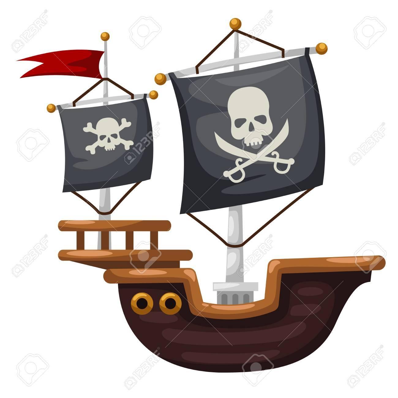 Excepcional Anatomía Barco Pirata Molde - Anatomía de Las ...