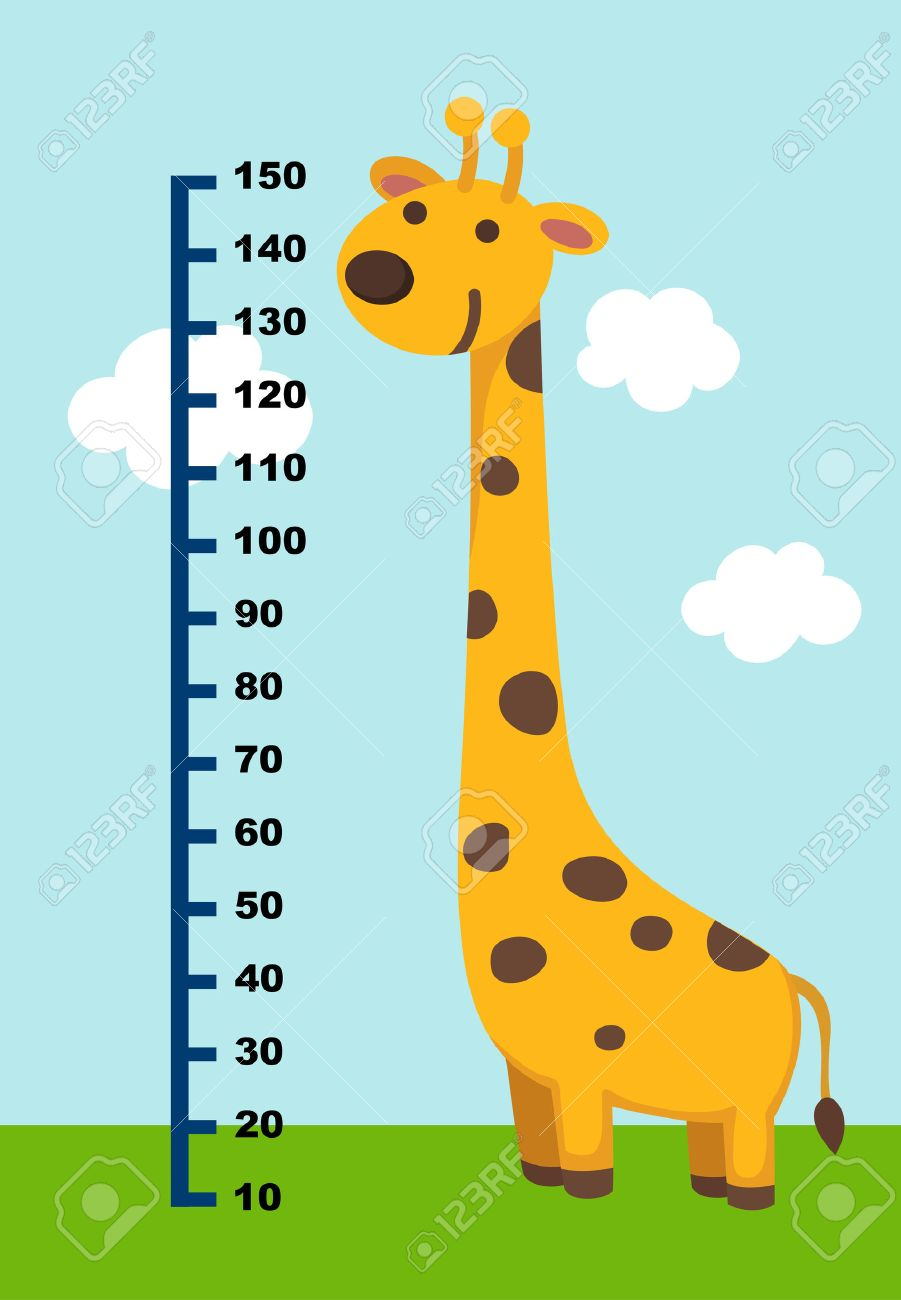 648 child growth chart cliparts stock vector and royalty free meter wall with giraffe vector illustration illustration nvjuhfo Image collections