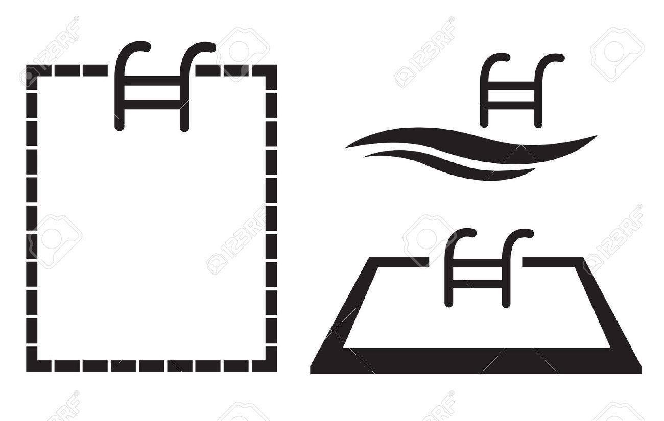 swimming pool icon vector royalty free cliparts, vectors, and stock  illustration. image 59982676.  123rf