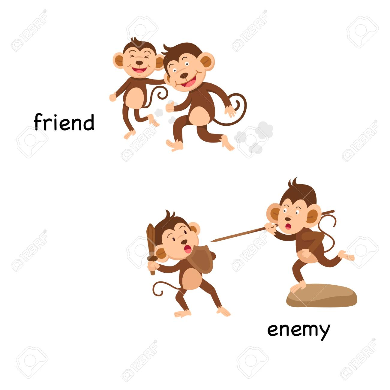 opposite of friend
