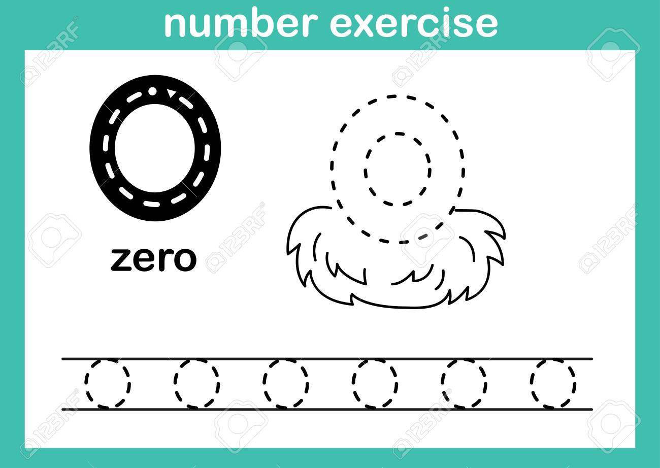 number exercise illustration vector - 114898211