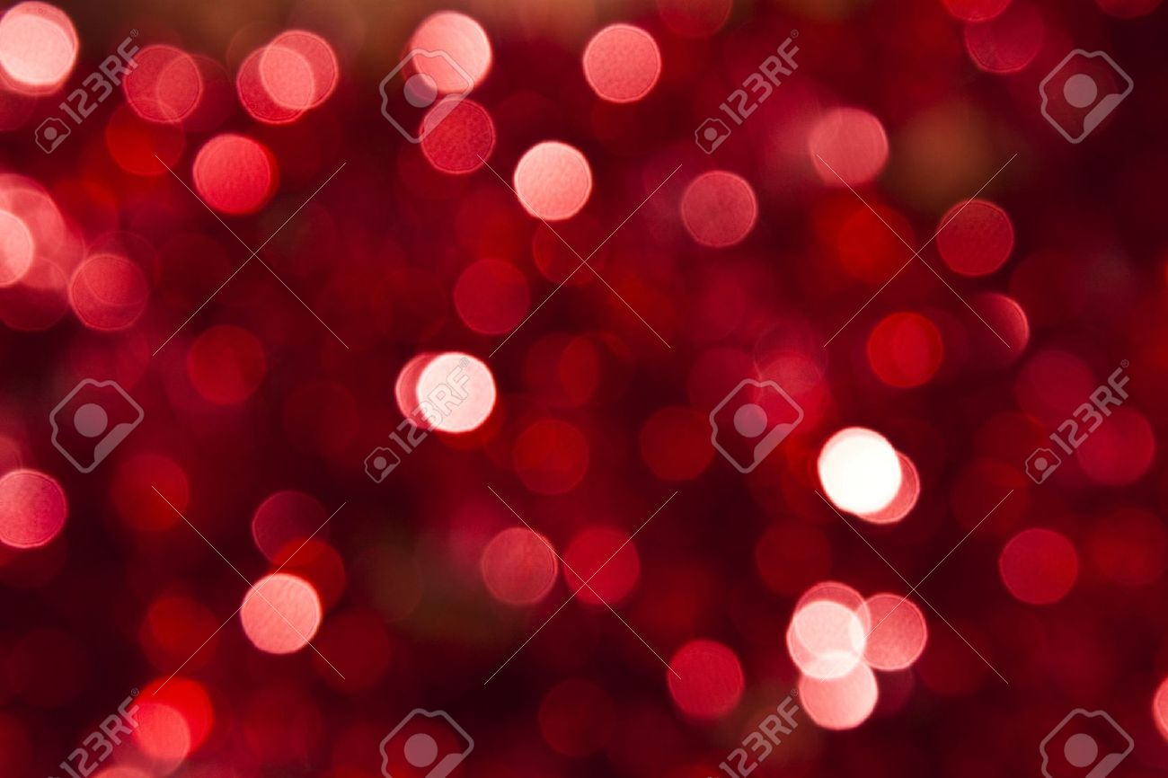 Defocused abstract red christmas background Stock Photo - 10697751