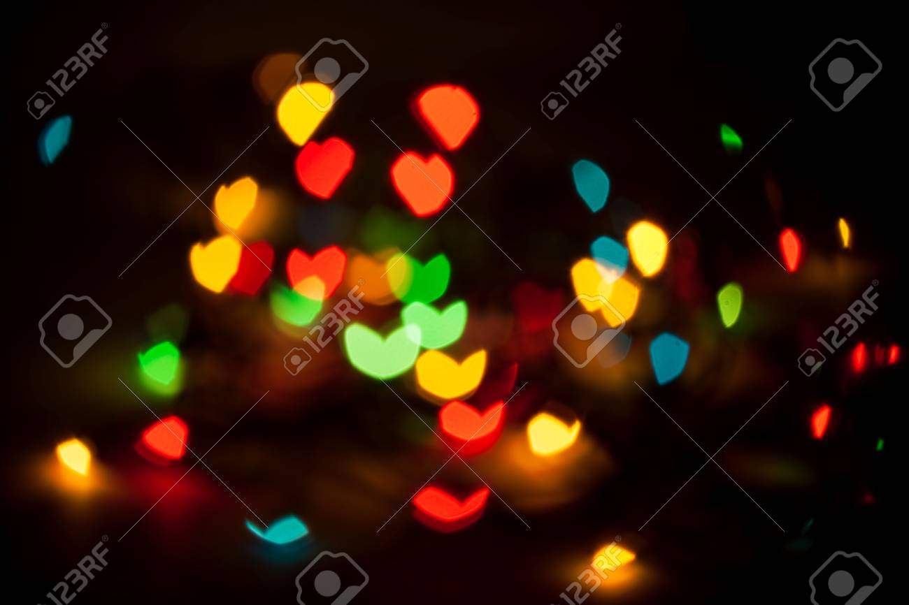 Defocused abstract lights background Stock Photo - 16922124