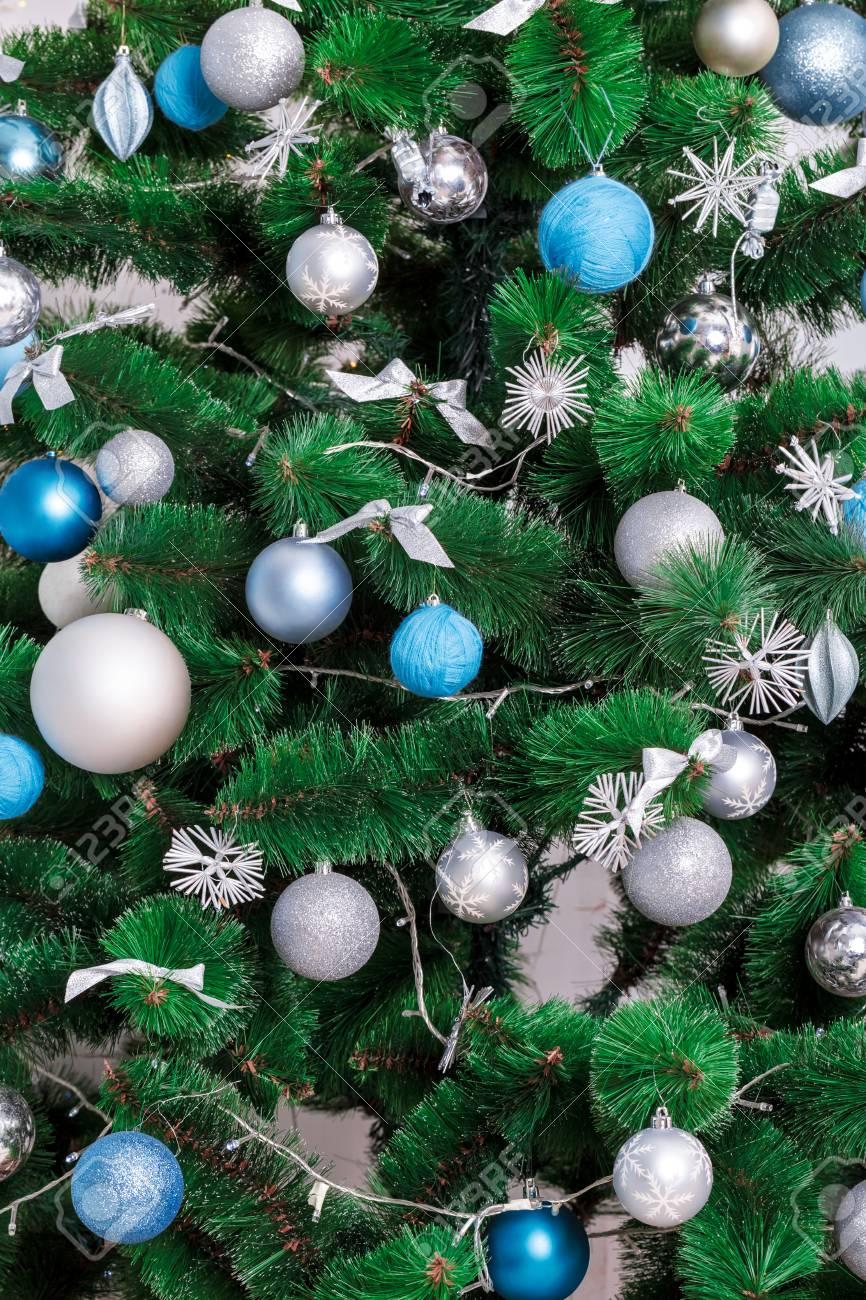 Geschmuckten Weihnachtsbaum Schone Weihnachten Wohnzimmer Mit Standard Bild