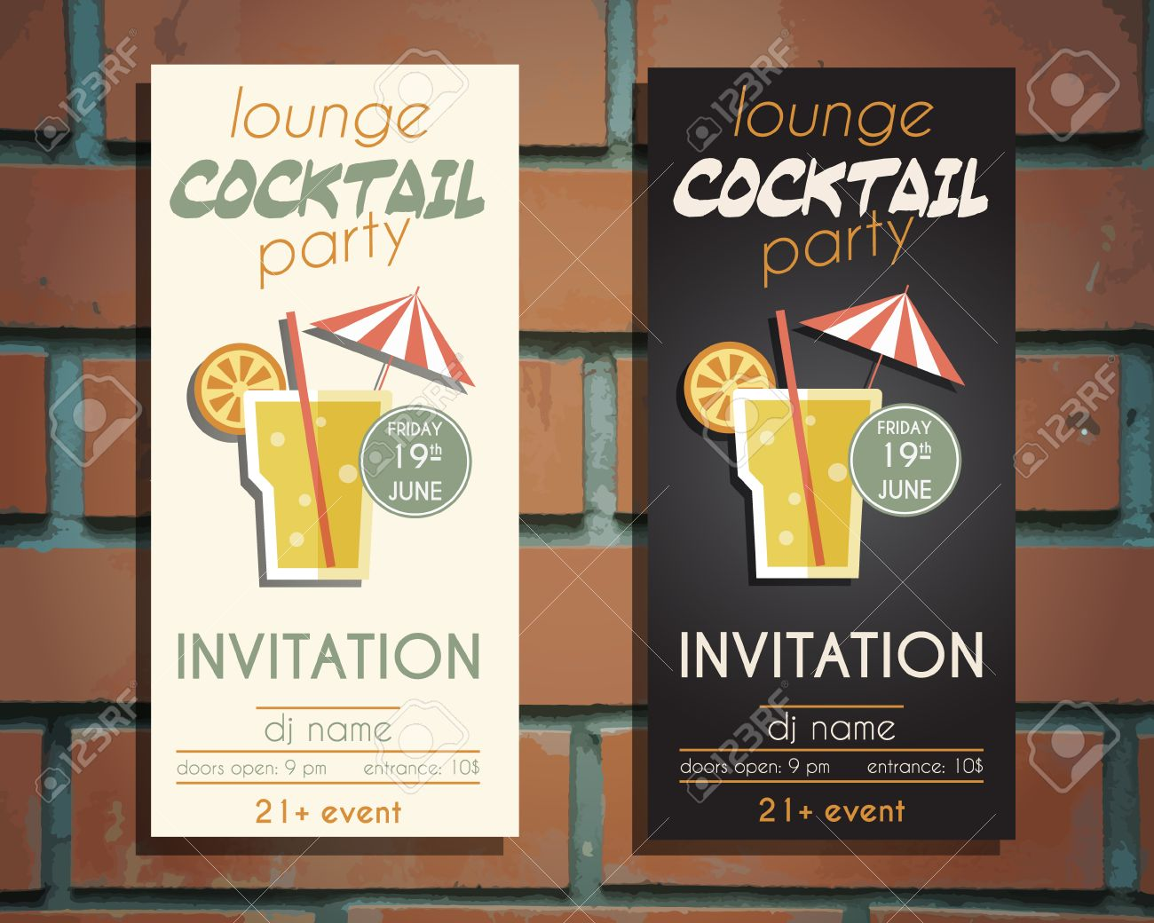 lounge cocktail party flyer invitation template screw driver lounge cocktail party flyer invitation template screw driver cocktail vintage design for bar or