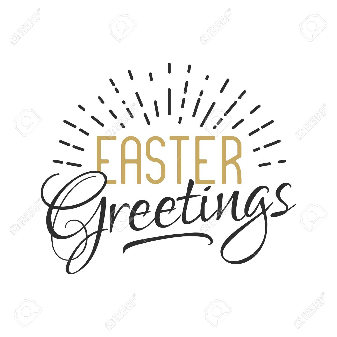 Easter sign easter greetings easter wishes overlay lettering easter sign easter greetings easter wishes overlay lettering label design retro holiday m4hsunfo