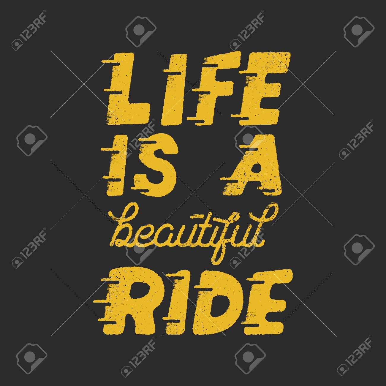Life is a beautiful ride motivation quote - 88372036