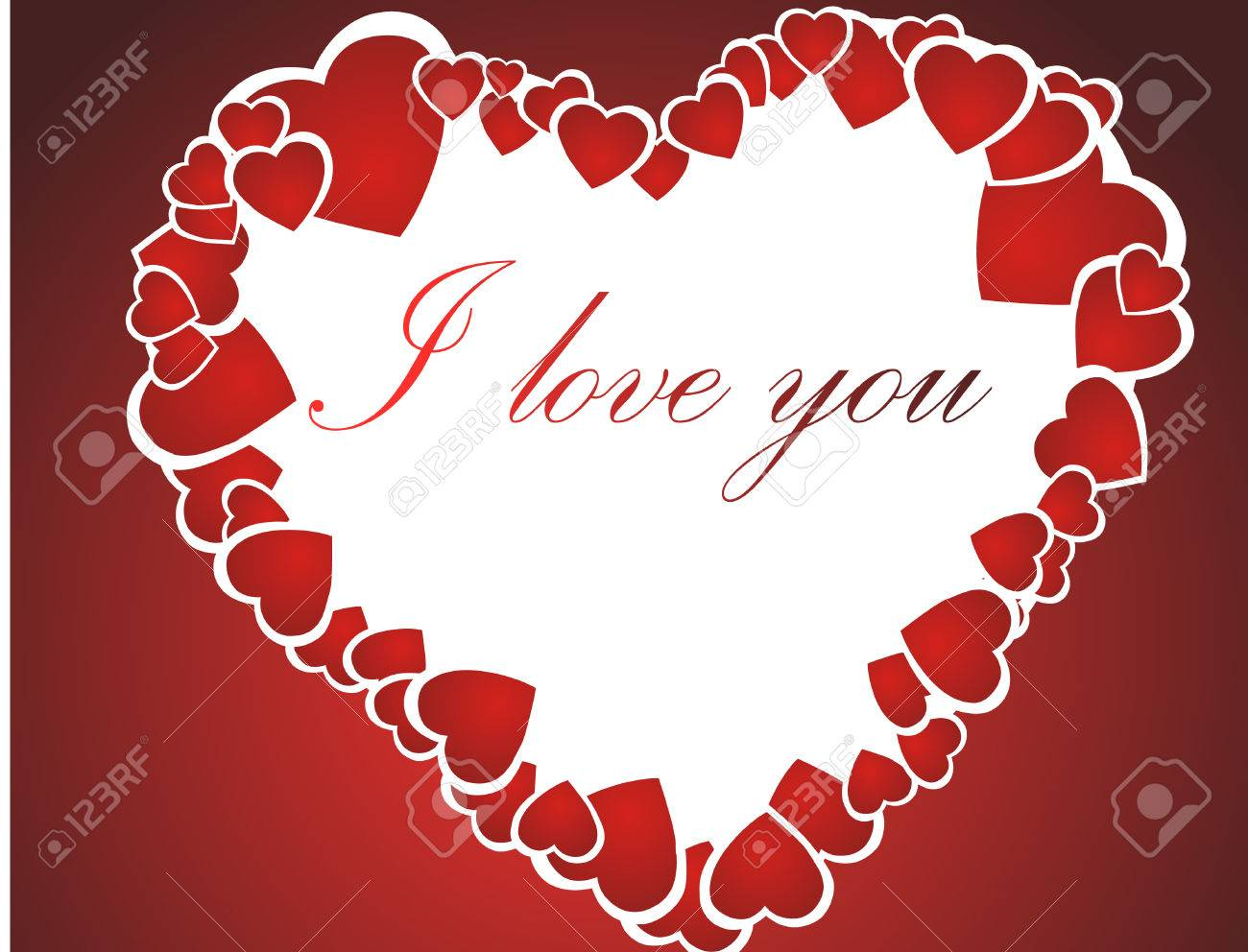 I love you Stock Vector - 4113784