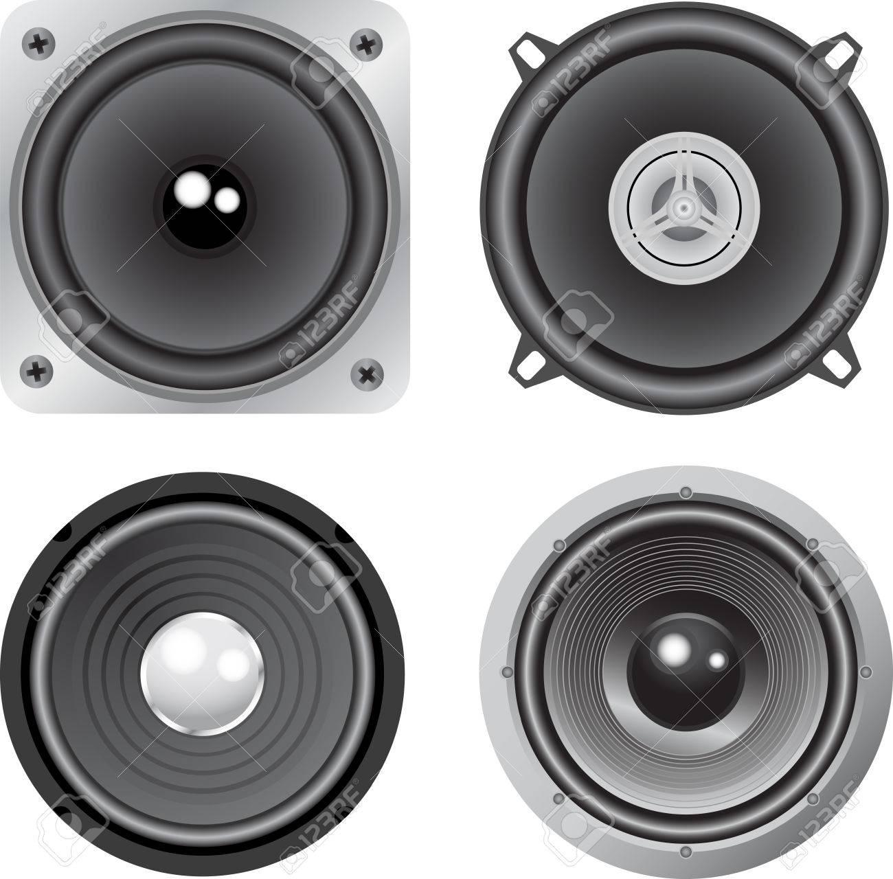 vector loudspeaker Stock Vector - 4979082