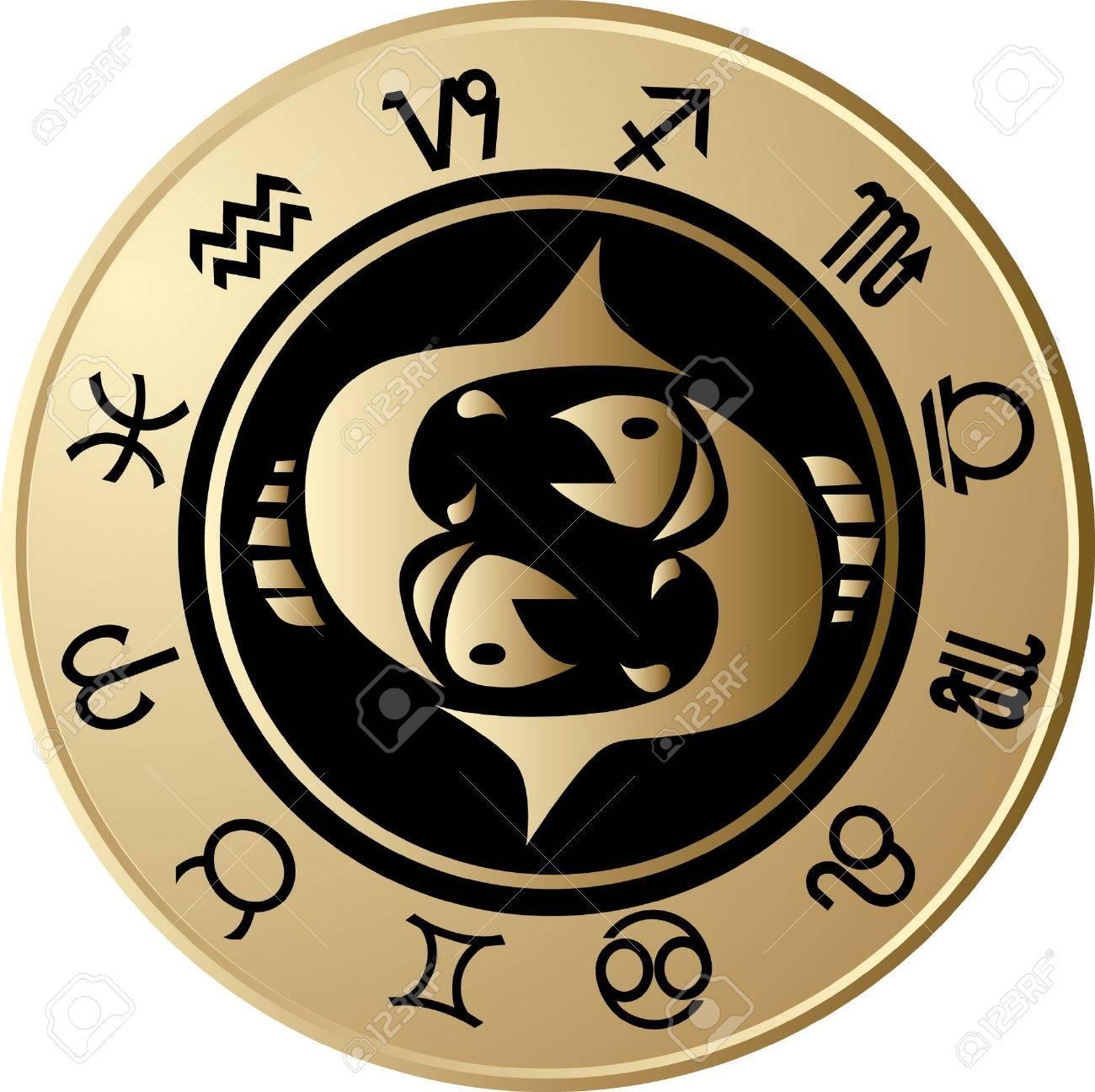 Horoscope Pisces Stock Vector - 6675003