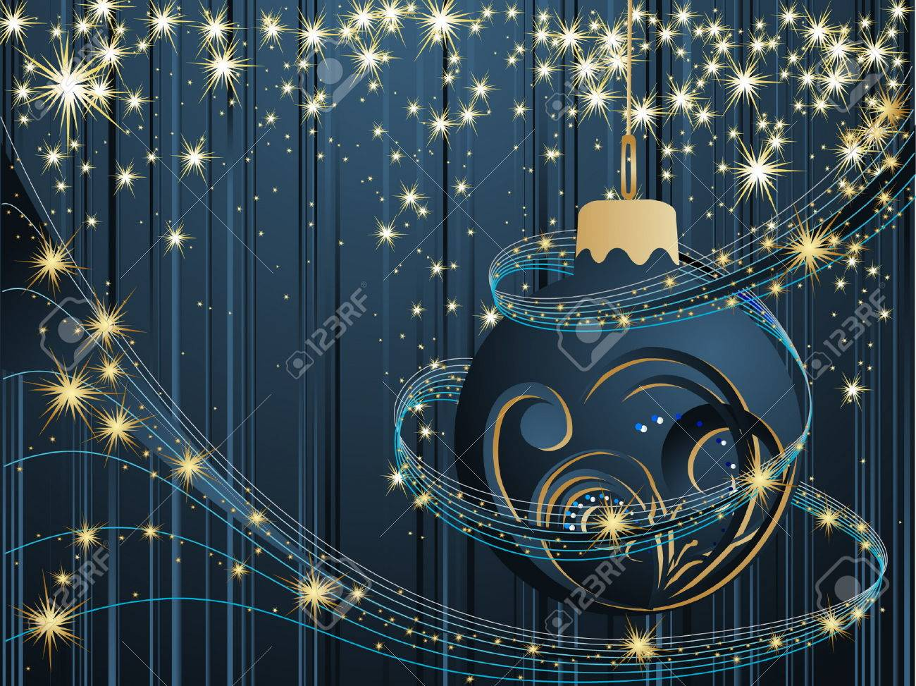 Happy New Year background Stock Vector - 7159876