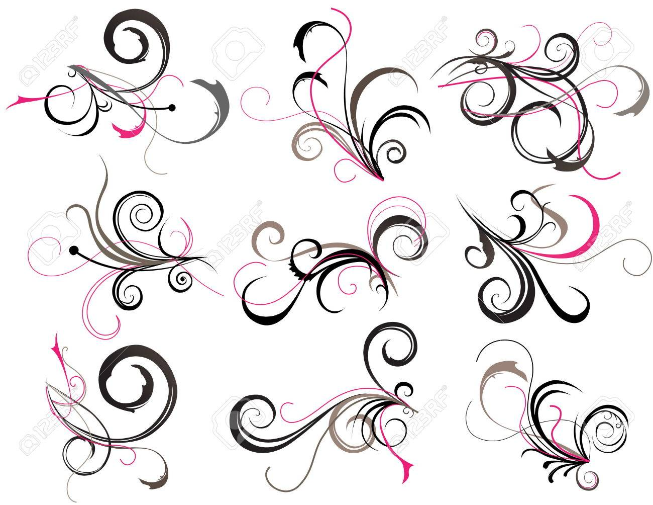 Abstract tattoo Stock Vector - 8623365
