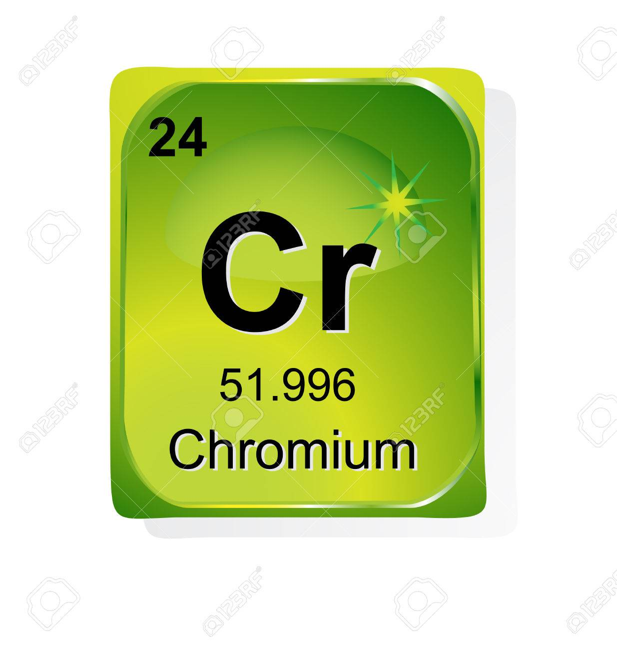 Chromium chemical element with atomic number symbol and weight chromium chemical element with atomic number symbol and weight stock vector 24509737 buycottarizona