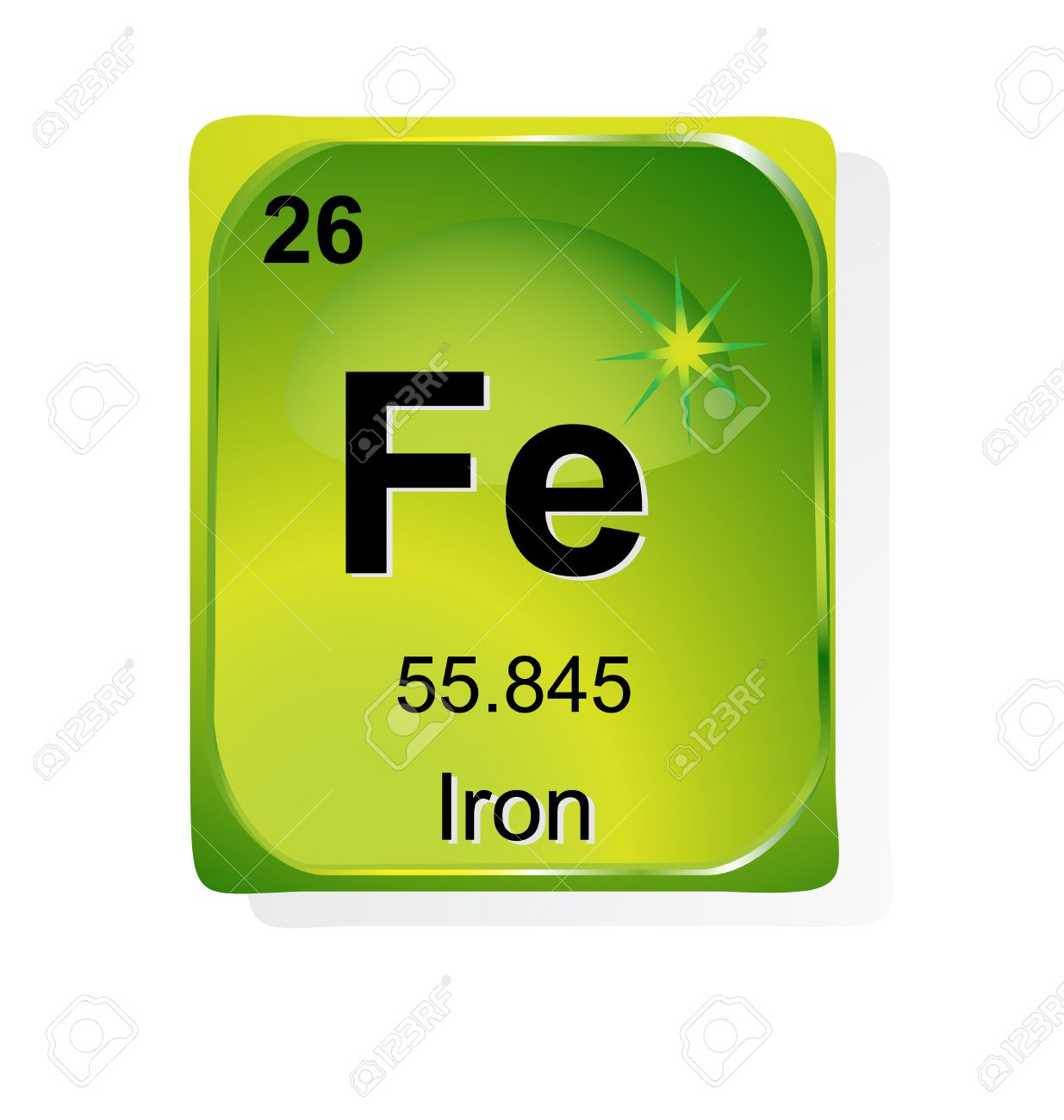 Iron chemical element with atomic number symbol and weight iron chemical element with atomic number symbol and weight stock vector 24509739 gamestrikefo Image collections