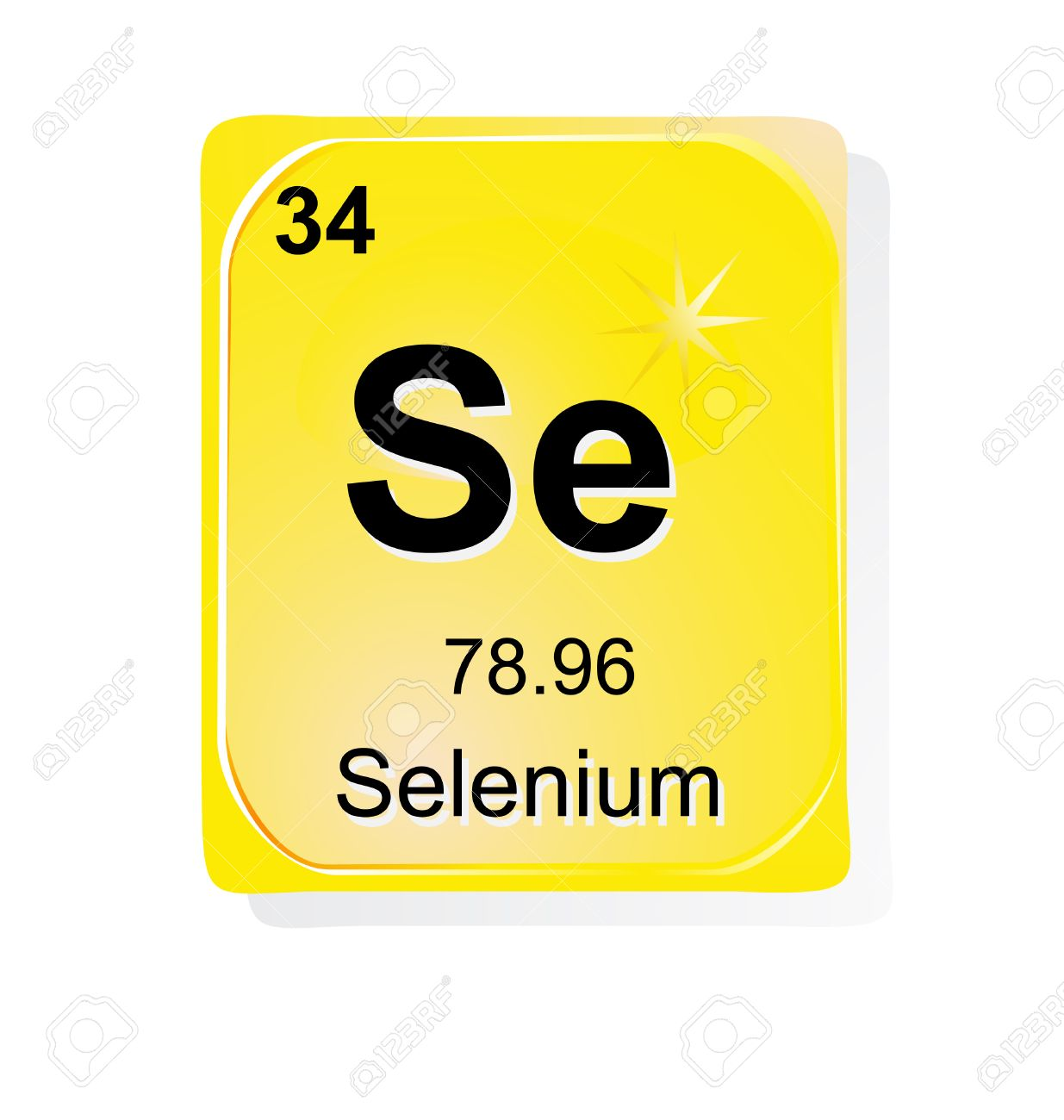 Selenium chemical element with atomic number symbol and weight selenium chemical element with atomic number symbol and weight stock vector 24509760 buycottarizona